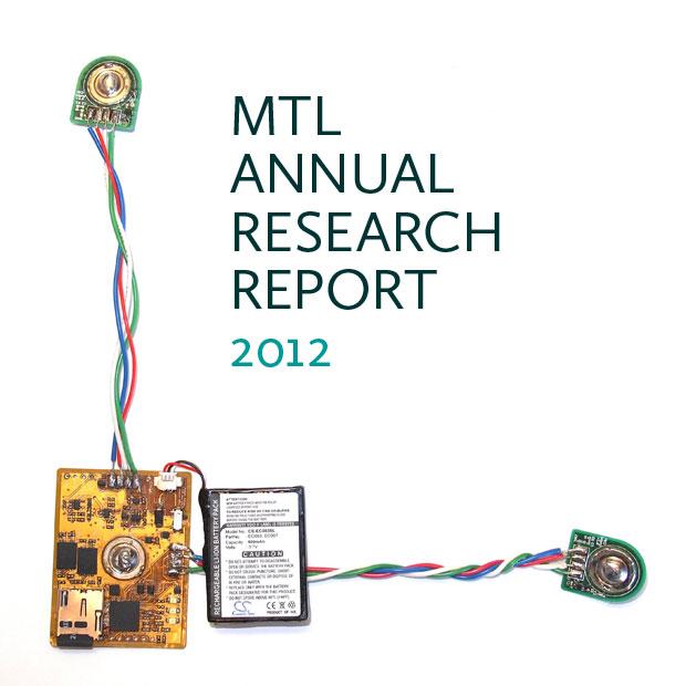 MTL Annual Research Report 2012